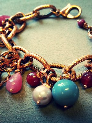 bracciale Elena - bigiotteria artigianale fiorentina