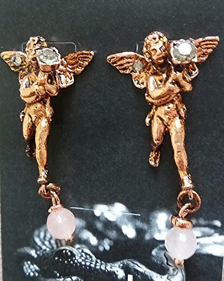 orecchini Hermes -bigiotteria artigianale fiorentina
